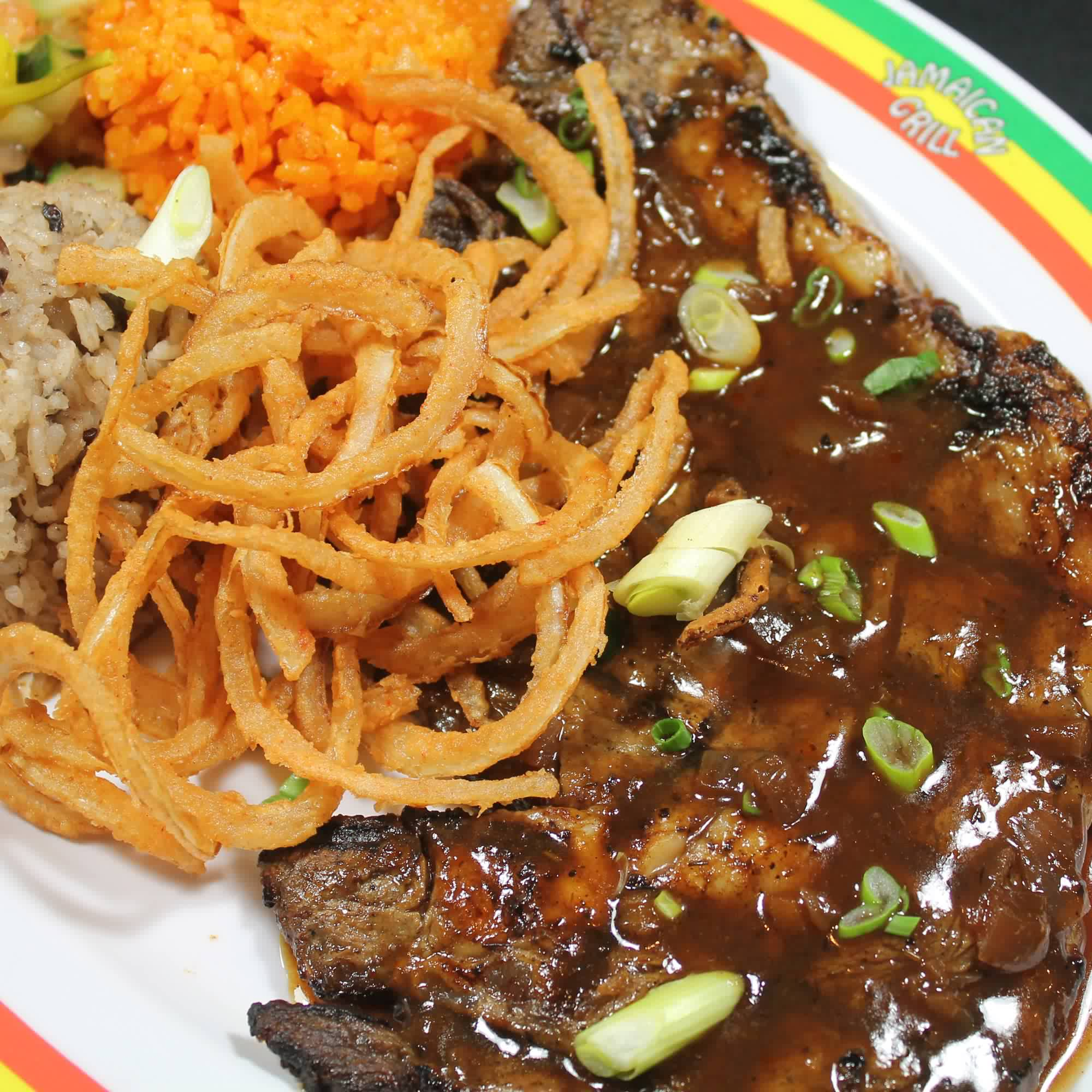 Caribbean Rib-Eye Steak