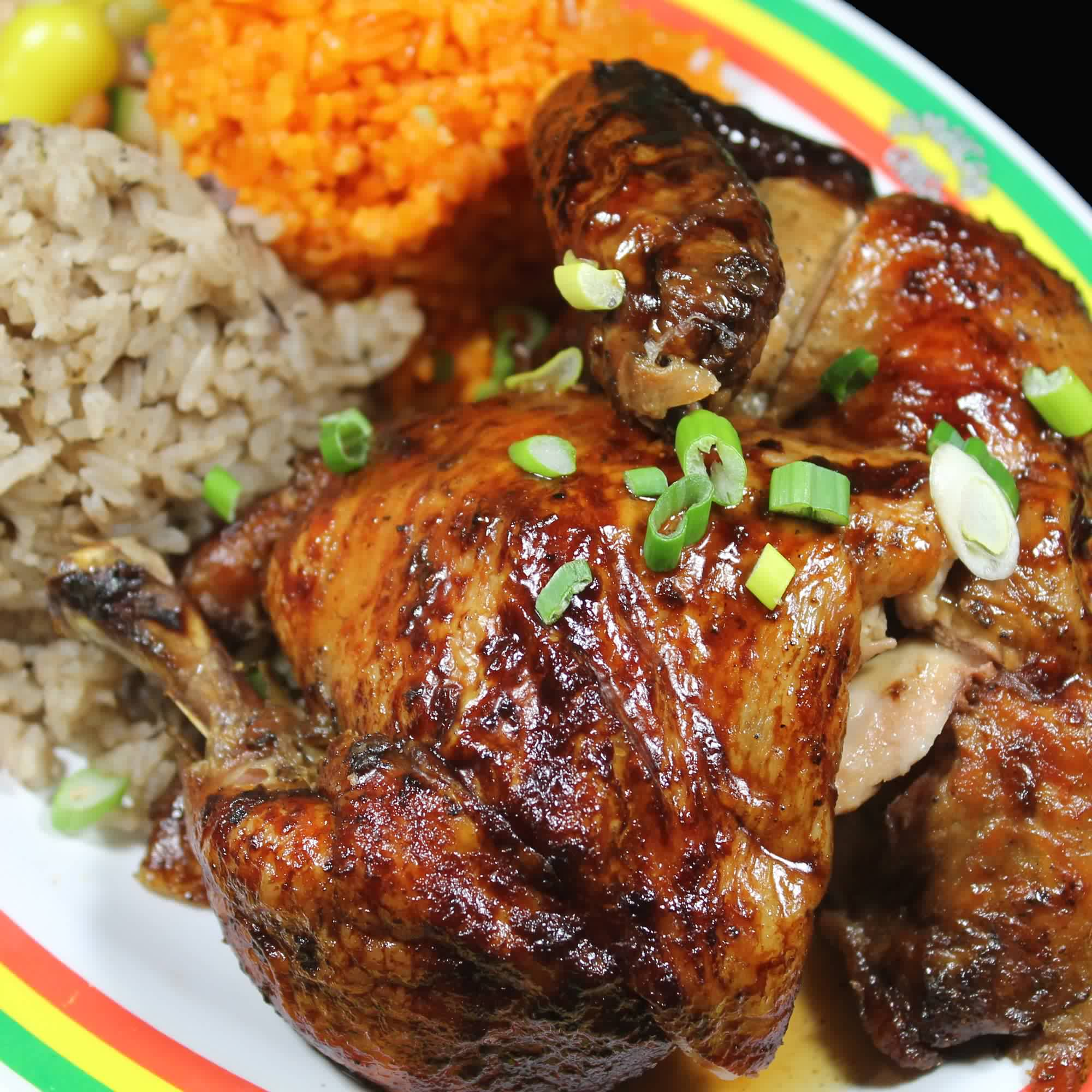 "Kingston BBQ ""Jerk"" Chicken"